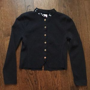 Juicy Couture Black Cardigan